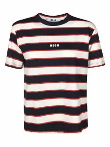 MSGM Striped T-shirt