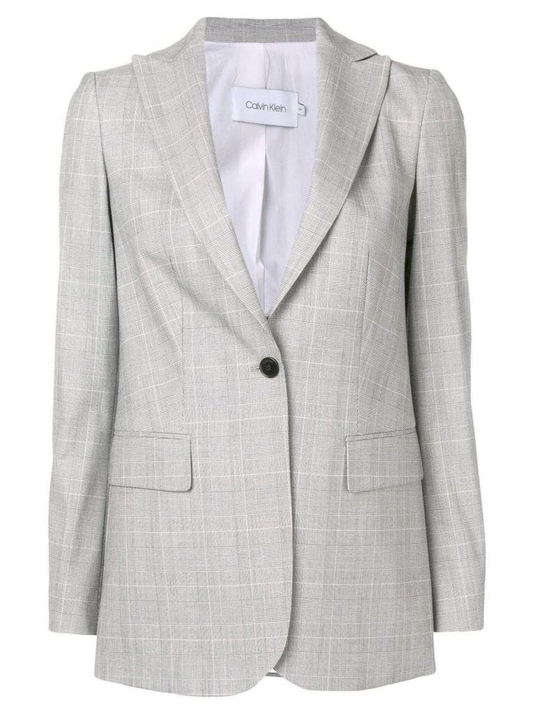 Calvin Klein tailored blazer jacket - Grey