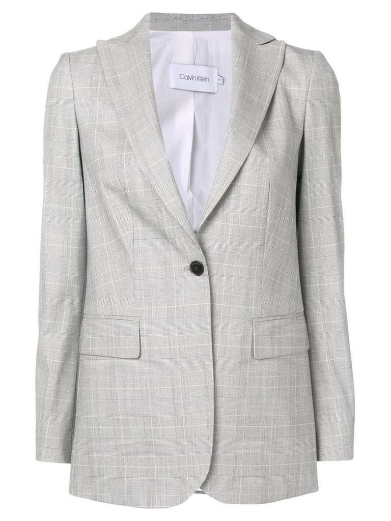 Calvin Klein tailored blazer jacket - Grey