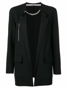 Alexander Wang chain-trim blazer - Black