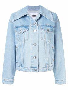 MSGM denim jacket - Blue