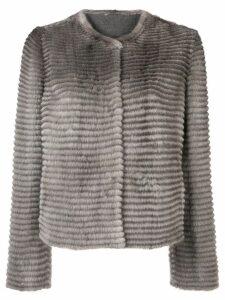 Liska mink fur jacket - Grey