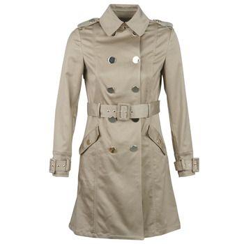 Marciano  FAB  women's Trench Coat in Beige