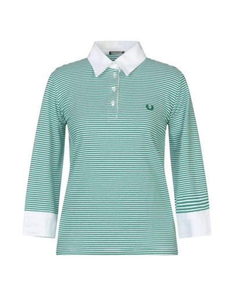 FRED PERRY TOPWEAR Polo shirts Women on YOOX.COM