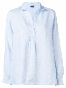 Fay loose-fitting blouse - Blue