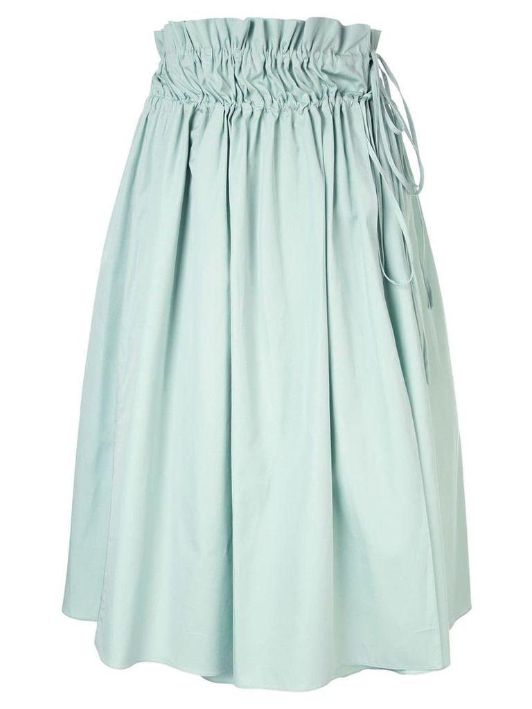 Jil Sander Navy elasticated waist skirt - Green