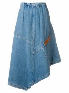Loewe midi denim skirt - Blue