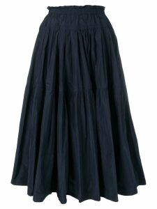 Odeeh flared skirt - Blue