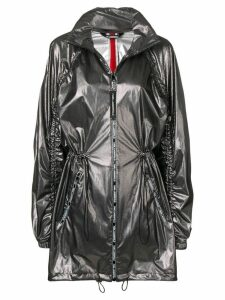 Karl Lagerfeld zip-up anorak - Black