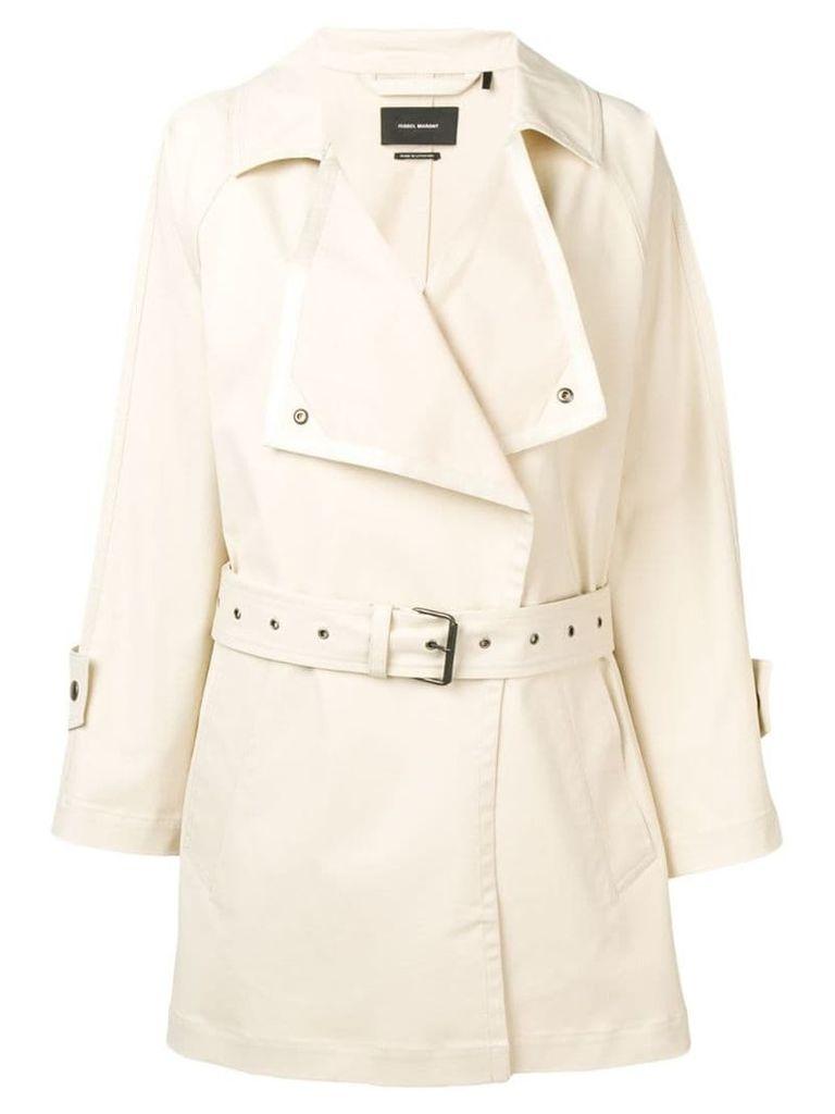 Isabel Marant Jamelo trench coat - Neutrals