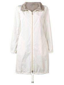 Herno classic midi raincoat - Neutrals
