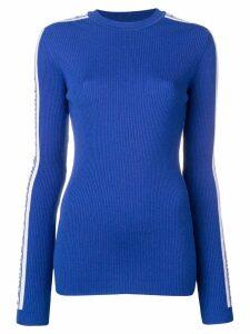 Fiorucci ribbed knit jumper - Blue