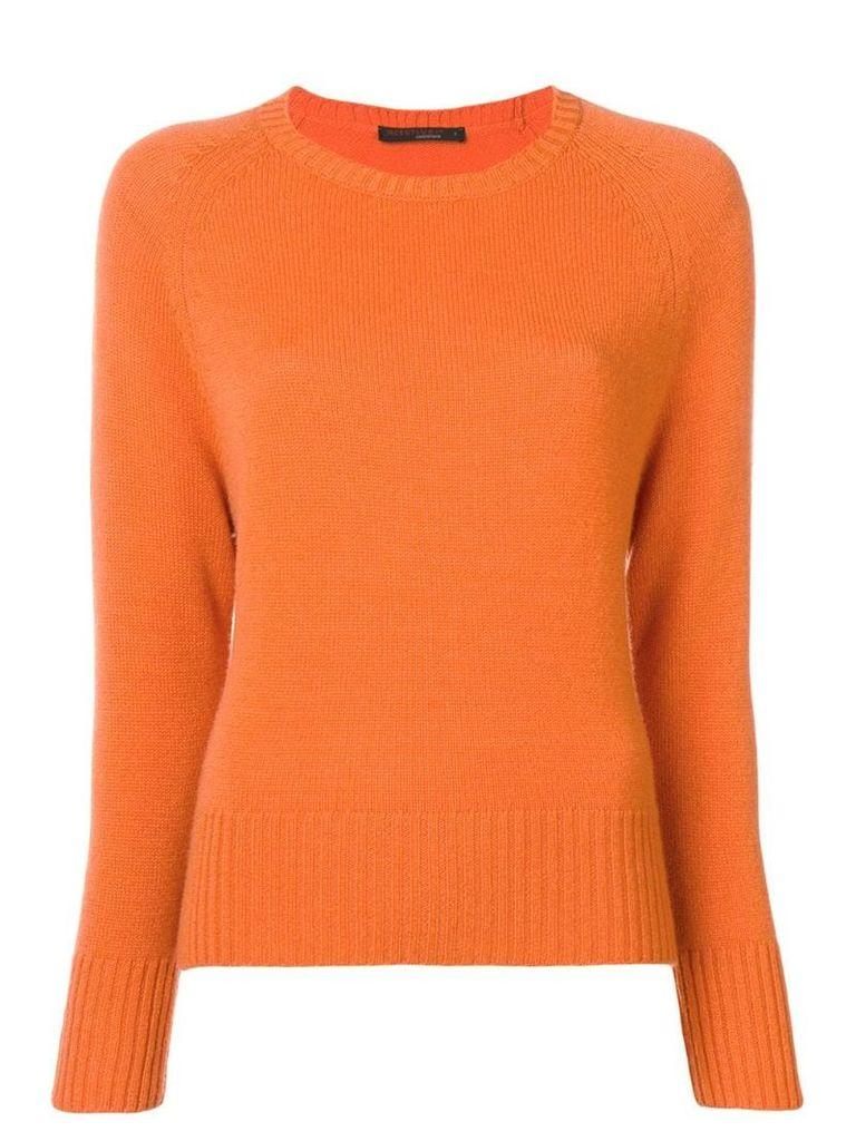 Incentive! Cashmere knitted jumper - Orange