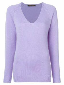Incentive! Cashmere knitted jumper - Purple