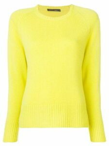 Incentive! Cashmere knitted jumper - Yellow