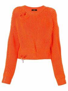 Diesel distressed jumper - Orange
