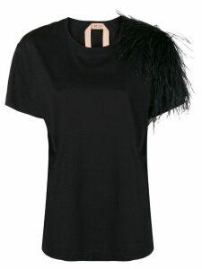 Nº21 round neck T-shirt - Black