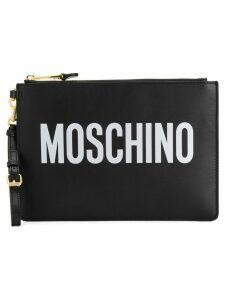 Moschino Logo Clutch