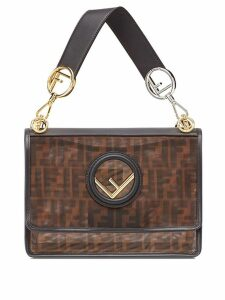 Fendi Kan I F shoulder bag - Brown