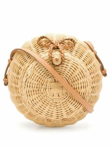 Ulla Johnson Pomme circular bag - Neutrals