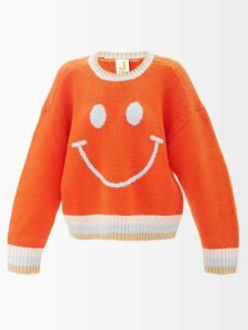 Marni - Floral Print Poplin Midi Skirt - Womens - Red Multi
