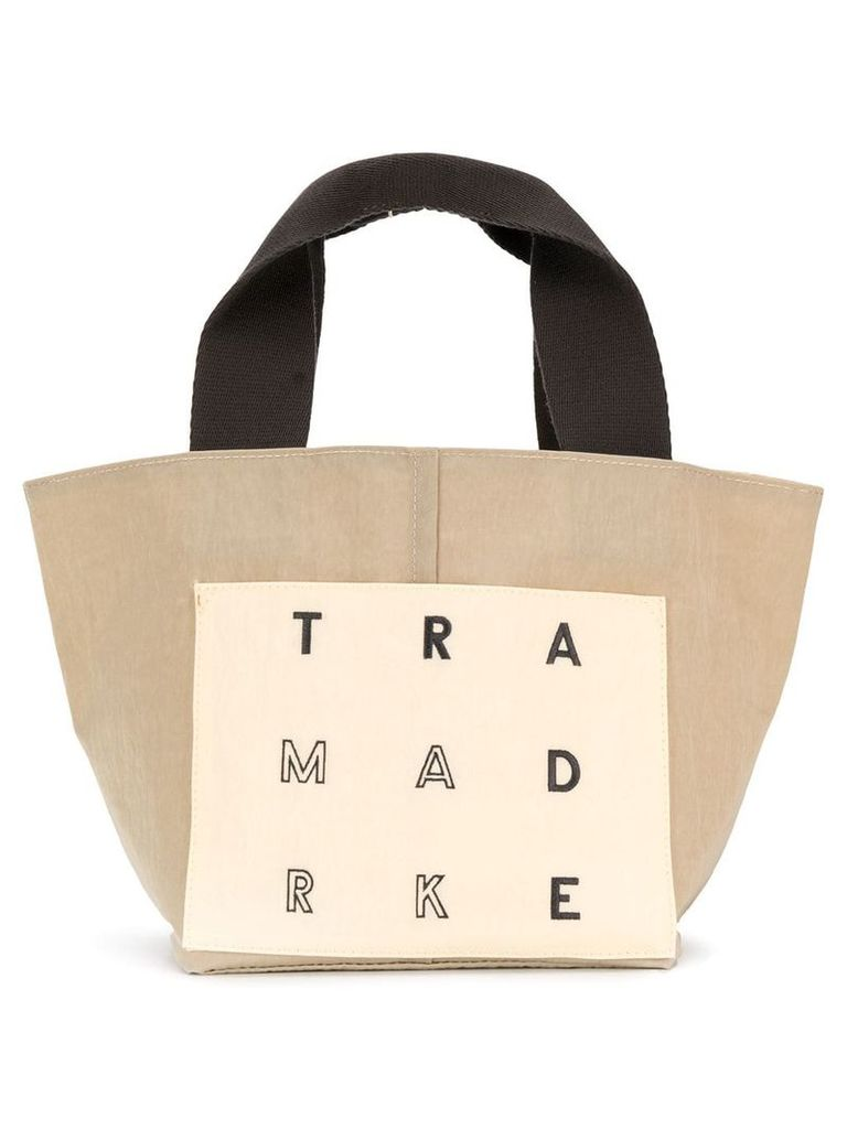 Trademark small reversible tote - Neutrals