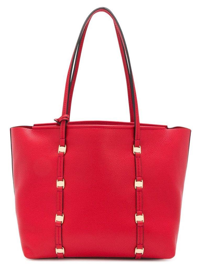 Salvatore Ferragamo Emotion shopping tote - Red