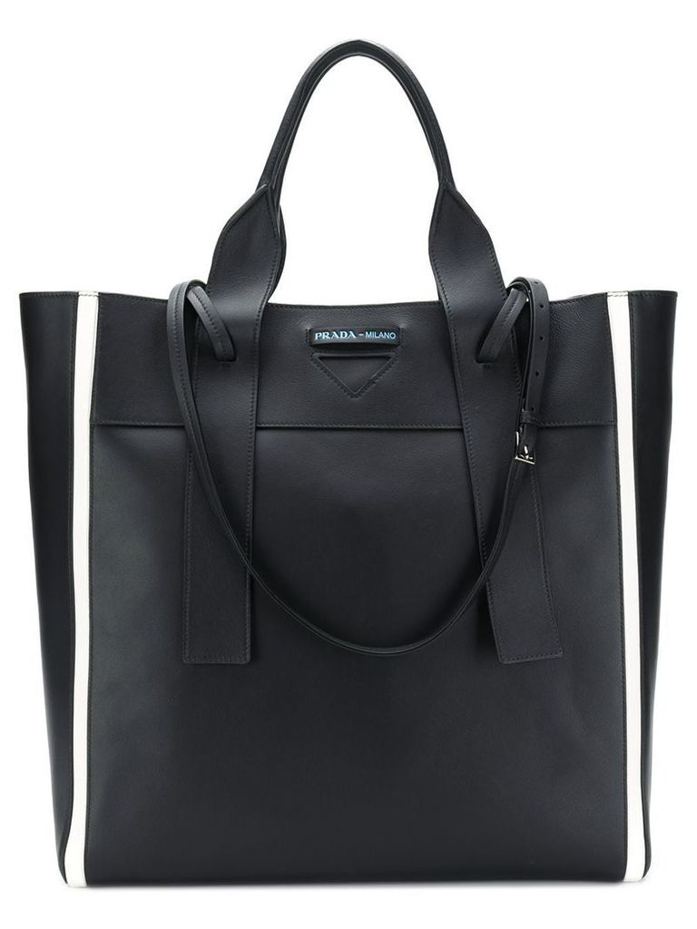 Prada large shopper tote bag - Black