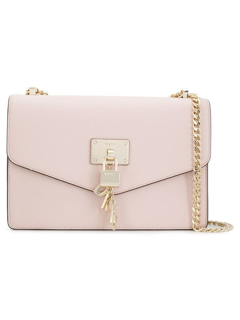 DKNY padlock detail crossbody bag - Pink