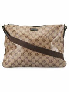Gucci Pre-Owned GG shoulder bag - Brown