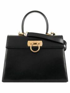 Salvatore Ferragamo Pre-Owned Gancini 2way bag - Black