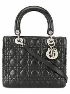 Christian Dior Pre-Owned Lady Dior Cannage 2way bag - Black