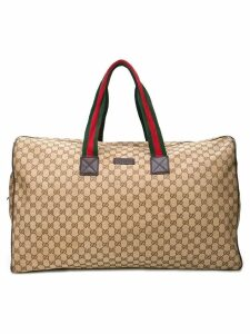 Gucci Pre-Owned monogram duffle bag - Brown