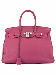Hermès Pre-Owned Birkin 35 Hand Bag - Purple