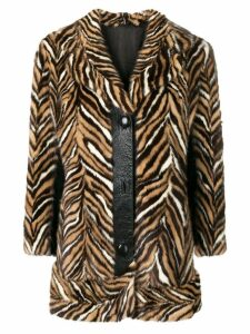 A.N.G.E.L.O. Vintage Cult 1970's animal print coat - Brown