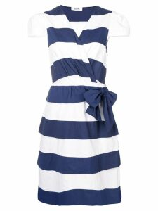 Moschino Pre-Owned 2000's striped dress - Blue