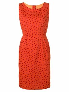 DOLCE & GABBANA PRE-OWNED 2000's polka dot dress - Orange