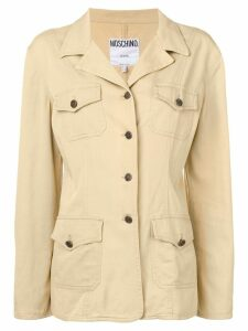 Moschino Pre-Owned 2000's shirt-style jacket - Neutrals