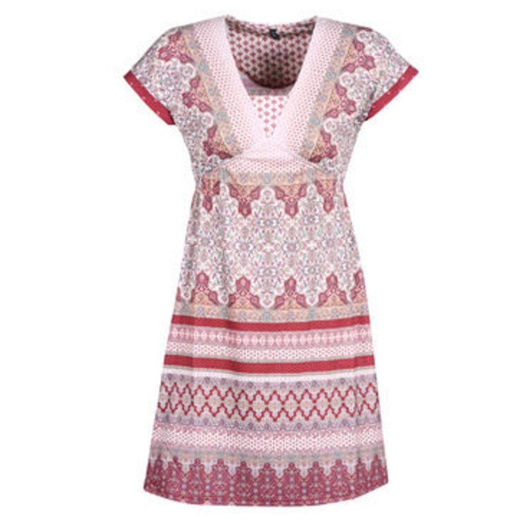 Smash  SAVANNA  women's Dress in Pink