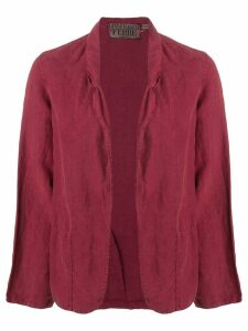 Gianfranco Ferre Vintage 1990's open front blazer - Red