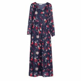 Vila  VIAMOLLO  women's Long Dress in Blue
