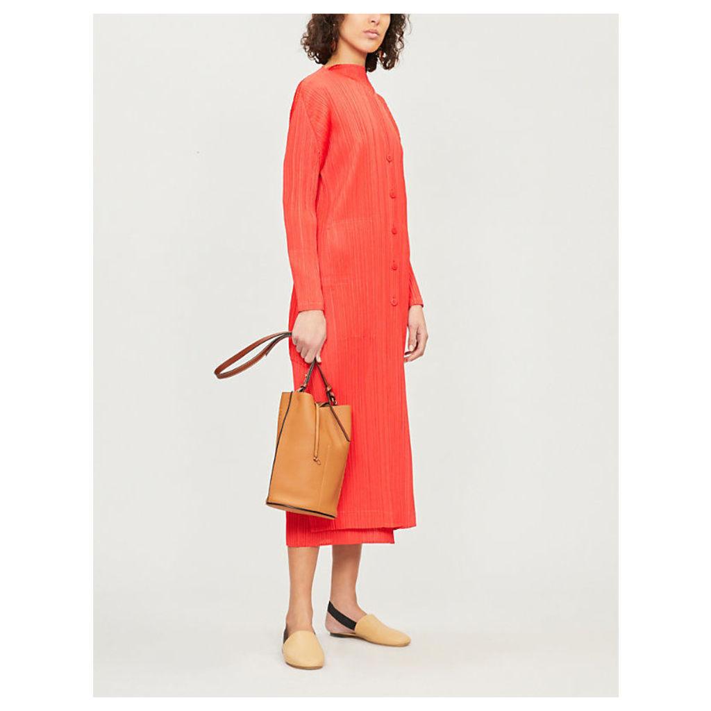 Moncol pleated coat