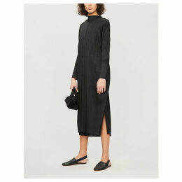 Moncol pleated coat