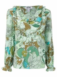 Moschino Pre-Owned 2000's printed top - Green