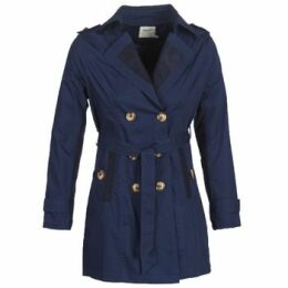 Smash  ANNABEL  women's Trench Coat in Blue
