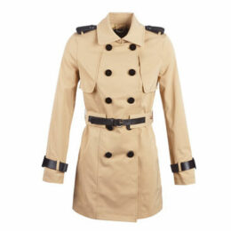 Guess  ROCCA  women's Trench Coat in Beige