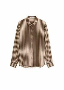 Bicolor striped shirt