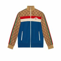 GG technical jersey jacket