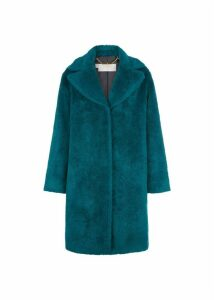 Braidy Coat Celadon Green L