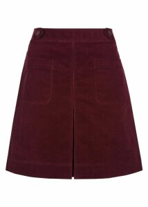 Valerie Skirt Burgundy 18